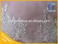 suiza velo de encaje de flores de tela bordado de recorte