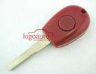 Red Transponder key blank for Alfa Romeo GTV Spider key blank