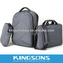 """9.7"""" Briefcase Message best selling fabric shoulder strap laptop bag/computer bag K8517W"""