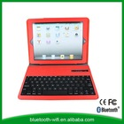 PU leather case with bluetooth keyboard for ipad mini 2