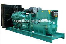Environmental protection biogas naturl gas generator open type 150KW