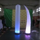 2015 hot sale led christmas inflatable cone for decoration