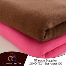 Super quality unique interlock rib 100% cotton knitted fabric