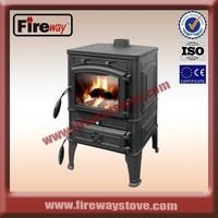 Indoor big firebox wood stove