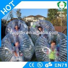 HI CE Excited 0.8mm PVC1.2m/1.5m dia lindenhurst soccer bubble ,soccer bubble sports domes ,bounce ball