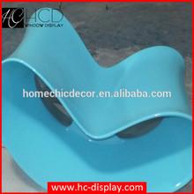 Fiberglass rocking office chairs