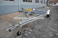 Dual Axle Aluminum Boat Trailer with hydraulic brake