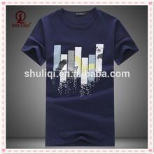 Short sleeve t shirt custom printing logo no design limit offer designer help