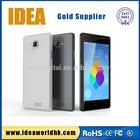 5 inch MTK6582 quad core smart phone, ultra slim design with dual SIM standby smart phone