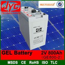 China battery manufacturing plant,2v 800ah big battery ,big power battery
