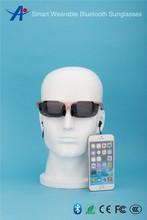 best polarized wearable smart Mp3 sport Bluetooth headset sunglasses