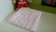 Soft thin baby blanket muslin swadddle baby carrier wrap large size 47X47''