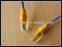 Cat5e Cat6 Cat7 RJ45 to RJ45 Network Cable With Metal Covering SFTP Patch Cord Ethernet Network Cable Patch Internet Lan