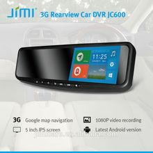 "Newest 1080P Full HD 5"" Car Camera Rear View Mirror Monitor Dash Vehicle DVR Video Recorder"