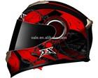 motorcycle full face double glasses ABS shell DOT helmet