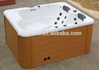 Factory price freestanding resin outdoor bathtub