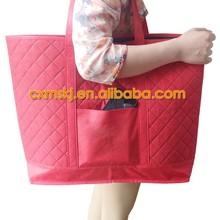 mass production single-shoulder non woven bag for shopping