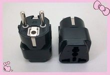Hot selling alibaba female to male electrical plug adapter CE