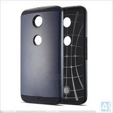 PC and TPU Slim Armor Case for nexus 6, Slim combo armor cases for google nexus 6