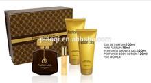 unique design Luxurious original black gold perfume
