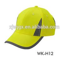 Hi Vis baseball hat sport safety Leisure cap