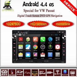 Android 4.4 Car multimedia player for VW GOLF4/B5 with Cortex A8 Chipset/ CPU 1GB MHz/ RAM 512 MB / 3G USB Host/DVR function