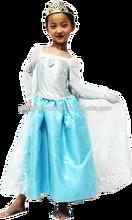 2015 de china nuevo diseño de la princesa congelada elsa traje de los cabritos PLCC-1038