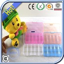 Mobile phone plastic transparent box