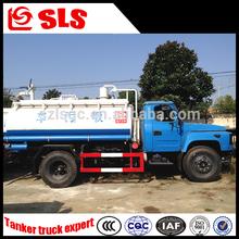 Dongfeng 4*2 vácuo de sucção de esgoto caminhão de sucção de lamas e de limpeza de esgoto