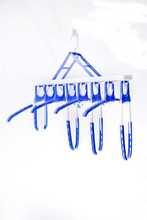 free sample plastic hanger wood chrome clips hanger