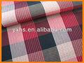 Plaid stretch chemise tissu vêtement usine en bangladesh