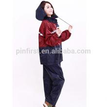 Wholesale Fashion Outdoor Sports Fishing Man & Woman Waterproof Fission Raincoat Suit Motorcycle Raincoat