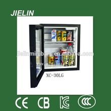 XC28 Silent work solid door mini fridge