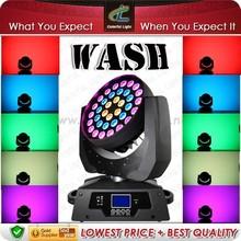 2014 36*10w rgbw zoom wash dj equipment stage light supplier