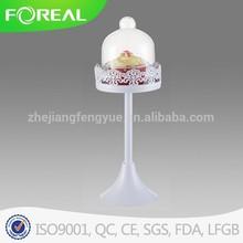single tier wedding cake stand