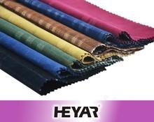 16 wale wholesale custome cotton yarn dyed corduroy