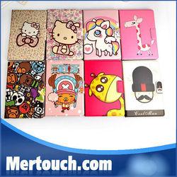 for ipad mini leather case for apple ipad mini cartoons case