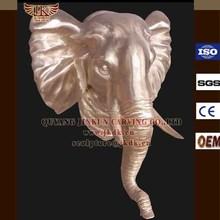 Indoor decoration elephant head wall sculpture