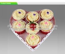 metal heart shape wedding cake stand