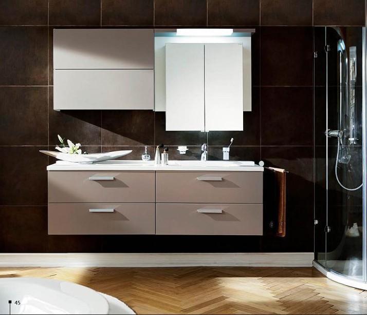 Moderne Badkamermeubel Hout : Moderne mdf of spaanplaat badkamermeubel ...