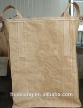 Cross Corner Loop Loop Option (Lifting) and Flat Bottom Bottom Option (Discharge) 1 tonne jumbo bag gc01