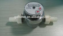 Long life single jet water mechanism