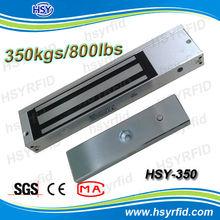 350LBS Frameless glass door lock, magnetic lock for window, euro lock mangnetic