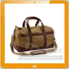 Popular cotton canvas duffel bag
