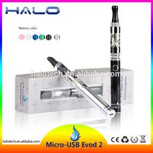 3.3~5.0V variable voltage 1100mah micro evod 2 glass globe wax vaporizer pen kit