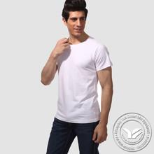 plain dyed hot sale spandex/cotton custom logo popular design women t shirt