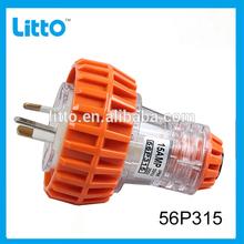 SAA Approved 3 Pin Plug and Socket