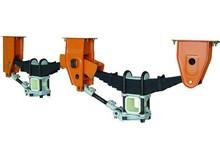 Leaf spring 6mm tridem customized underslung suspension manufacturer