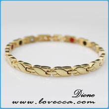 Personalized gold bracelet 22k