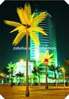 Led light tree wedding decorate tree palm light